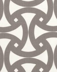 Grey Trina Turk IndoorOutdoor 2 Fabric  Santorini Print Fog