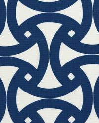 Blue Trina Turk IndoorOutdoor 2 Fabric  Santorini Print Marine
