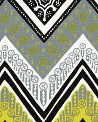 Yellow Trina Turk IndoorOutdoor 2 Fabric  Tangier Frame Print Driftwood