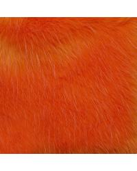 Feather Fur Orange Pink by