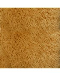 Brown Fun Fur Colors Fabric  Mongolian Fur Camel