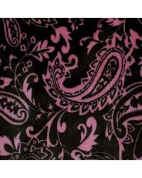 Paisley Cuddle Print Brown Hot Pink by