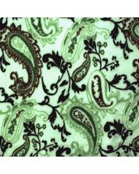Paisley Cuddle Print Mocha Olive by