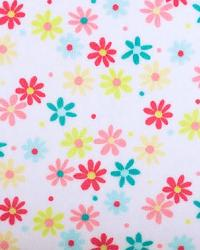 Retro Daisy Cuddle White Coral by