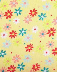 Retro Daisy Cuddle Yellow Coral by