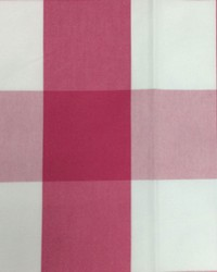 Sheldon and Barnett Checkmate Fuchsia Fabric