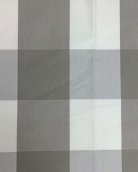 Sheldon and Barnett Checkmate Grey Cream Fabric