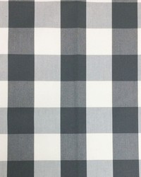 Sheldon and Barnett Squared Charcoal Cream Fabric