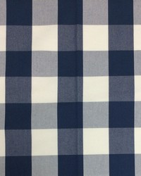 Sheldon and Barnett Squared Navy Cream Fabric
