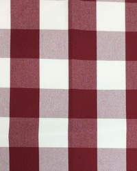 Sheldon and Barnett Squared Red Cream Fabric