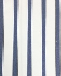 Sheldon and Barnett Stryper Navy Cream Fabric