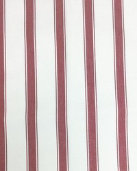 Sheldon and Barnett Stryper Red Cream Fabric