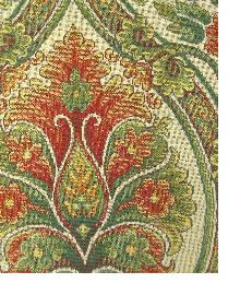 Green Small Print Floral Fabric  Nathan Ivory