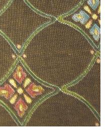 Brown Small Print Floral Fabric  Patricia Brown