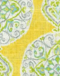 Suzani Fabric  Collage 2 Citrus