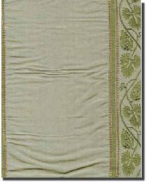 DE920 BERRY BRONZE Silk Fabric by