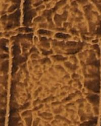 Animal Skin Fabric  Aquatic Cognac Vinyl