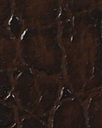 Animal Skin Fabric  Aquatic Espresso Vinyl