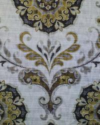 Yellow Suzani Fabric  Barossa Madden Moonstone