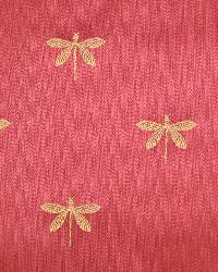Swavelle-Millcreek Imperial Dragonfly Maraschino Fabric