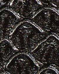 Animal Skin Fabric  Mamba Black Pearl Vinyl