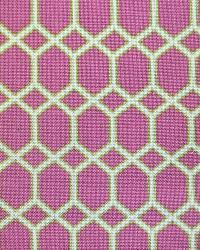 Trellis Diamond Fabric  Satu Brompton Berry