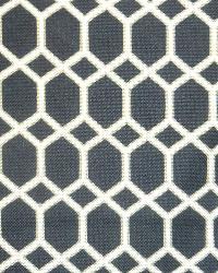 Trellis Diamond Fabric  Satu Brompton Onyx