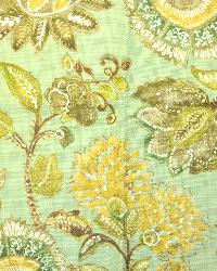 Beige Large Print Floral Fabric  Seymour Madden Eucalyptus