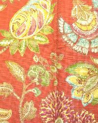 Large Print Floral Fabric  Seymour Madden Geranium