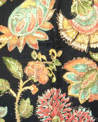 Large Print Floral Fabric  Seymour Madden Jewel