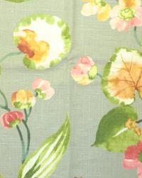 Large Print Floral Fabric  Spring Hill Cliffside Chicory
