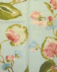 Beige Large Print Floral Fabric  Spring Hill Cliffside Dewdrop
