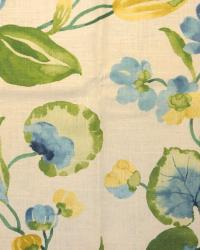 Large Print Floral Fabric  Spring Hill Cliffside Swan