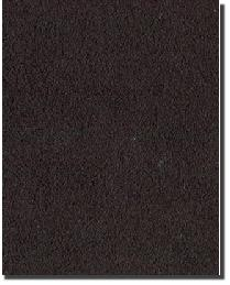 Tempo Plush Suede Black Fabric
