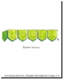 Banner Valance by