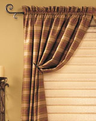 Rod Pocket Drapes by