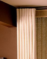 Cartridge Pleat Drapery by