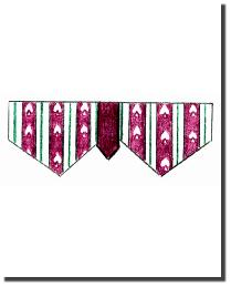 DOUBLE V VALANCE by