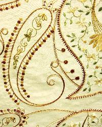 Beige Classic Paisley Fabric  Serafina Beige