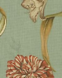 Green Medium Print Floral Fabric  SNS Somerset Botanic Mist