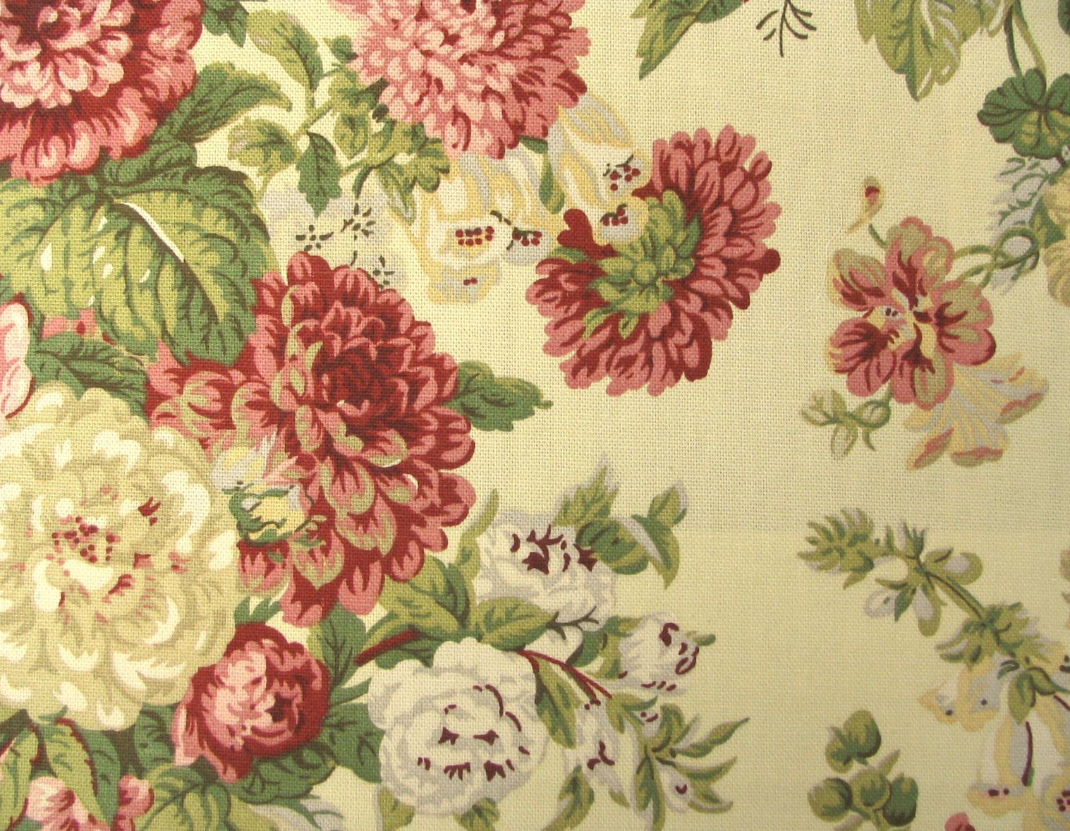 Waverly Fabrics Sitting Pretty Nfl Antique Red