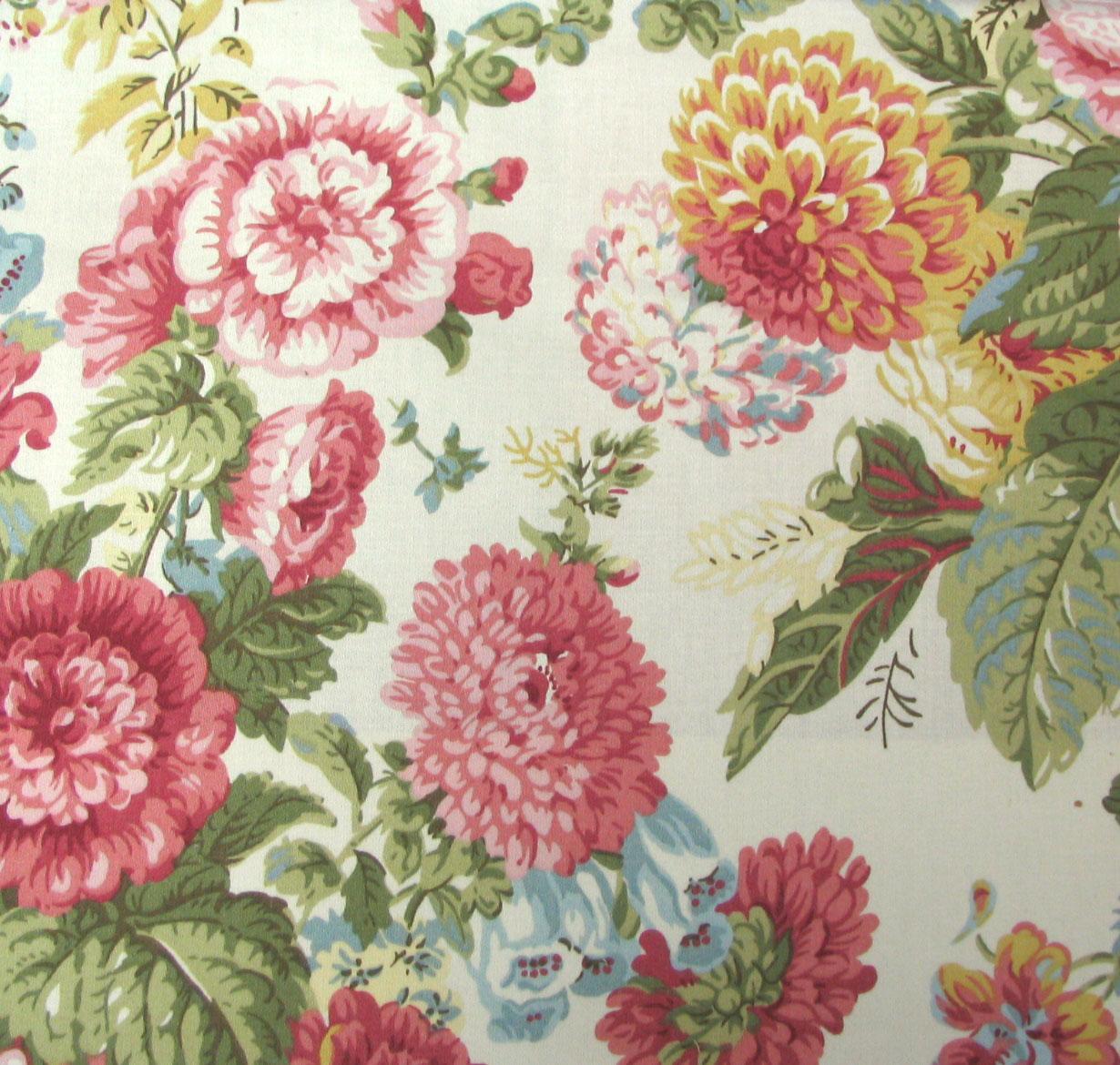 Waverly Fabrics Sitting Pretty Sateen Petal
