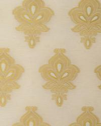 Beige Jacobean Fabrics  MEDAL OF HONOR GOLD