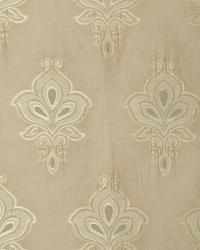 Beige Jacobean Fabrics  MEDAL OF HONOR IVORY
