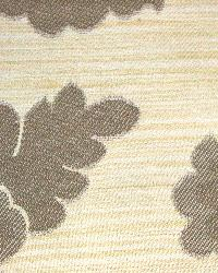 Brown Medium Print Floral Fabric  Wes Delphi Wheat