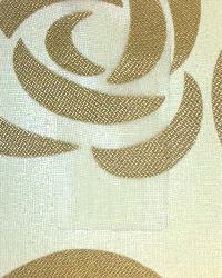Beige Medium Print Floral Fabric  Wes Mardi Gras Antique