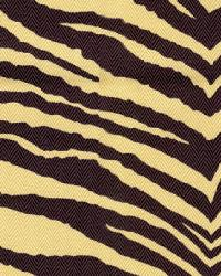 Jungle Safari Fabric  Wes Script Onyx
