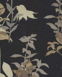 Large Print Floral Fabric  Wes Sound Track Raven