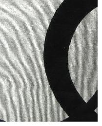 Grey Circles and Swirls Fabric  Wes Mythmaker Silver-Black