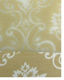 Beige Floral Diamond Fabric  Wes Pierre Champagne
